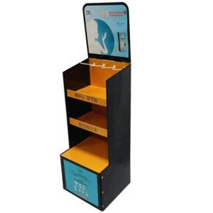 Five Tier Cardboard Display Stand