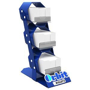 Sideling Metal Display Stand